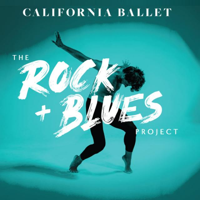 California Ballet Company Rock & Blues Project poster