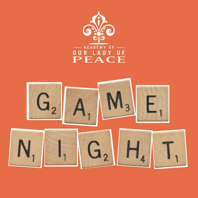 OLP Game Night Graphic