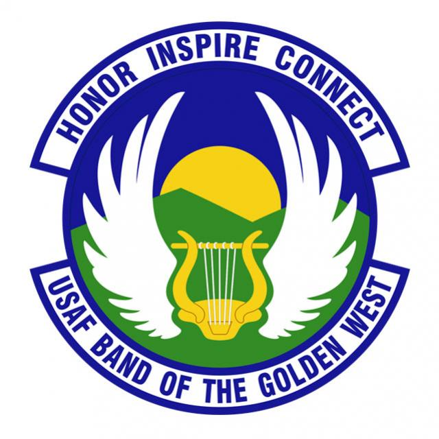 USAF Band of the Golden West logo