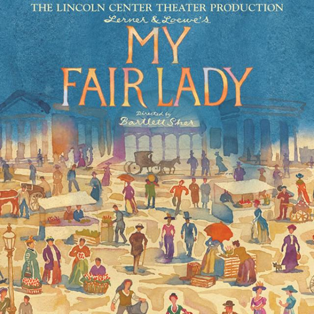 My Fair Lady poster artwork