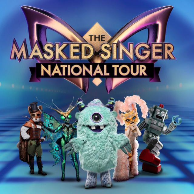 The Masked Singer Tour Poster